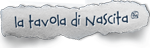 Logo tavola di nascita